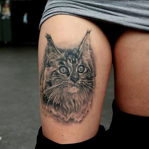 Big Cat Tattoos Designs