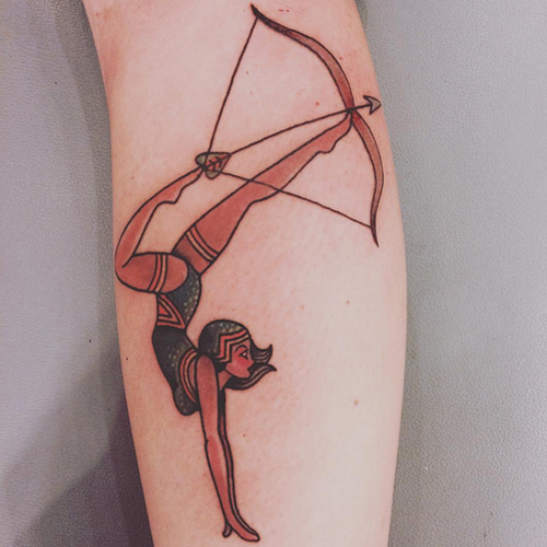 Bow and Arrow Tattoos