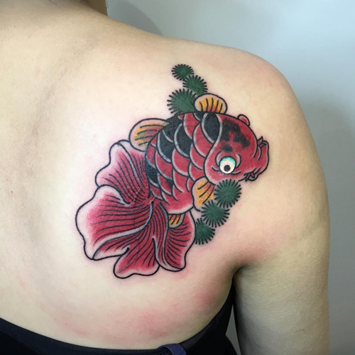 Chinese Fish Tattoos