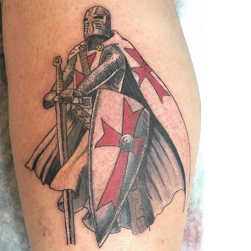 Big Gallery Of Christian Warrior Tattoos - Find Best Tattoos That You Want.