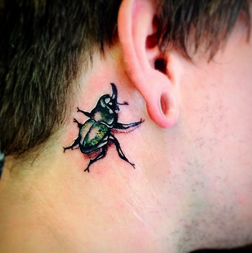 Small Bug Tattoos