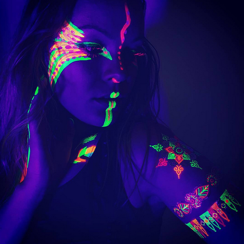 UV Black Light Tattoos