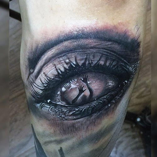 evil eye tattoos
