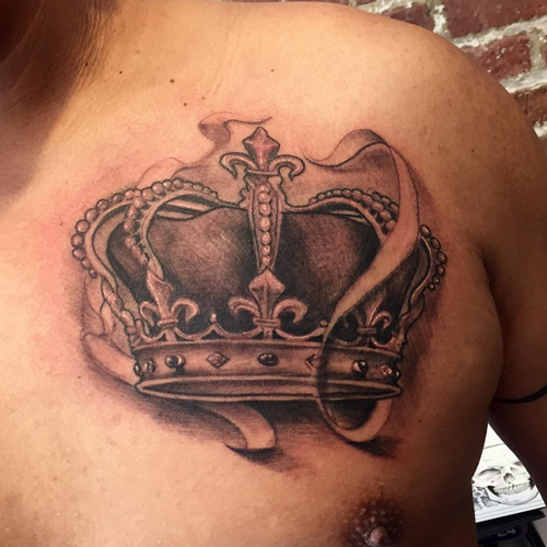 Royal Crown Tattoos Designs