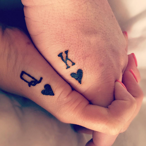 small couples tattoos