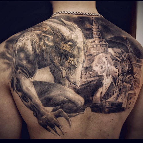tattoos of demons