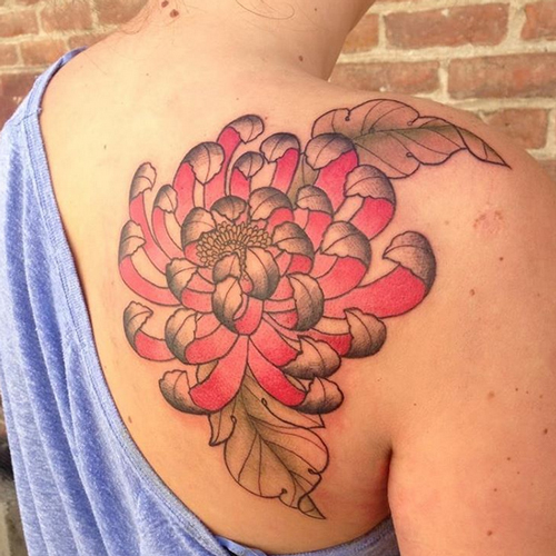 tattoos of flowers 5