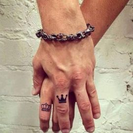 wedding ring finger tattoos