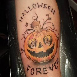 halloween tattoos ideas