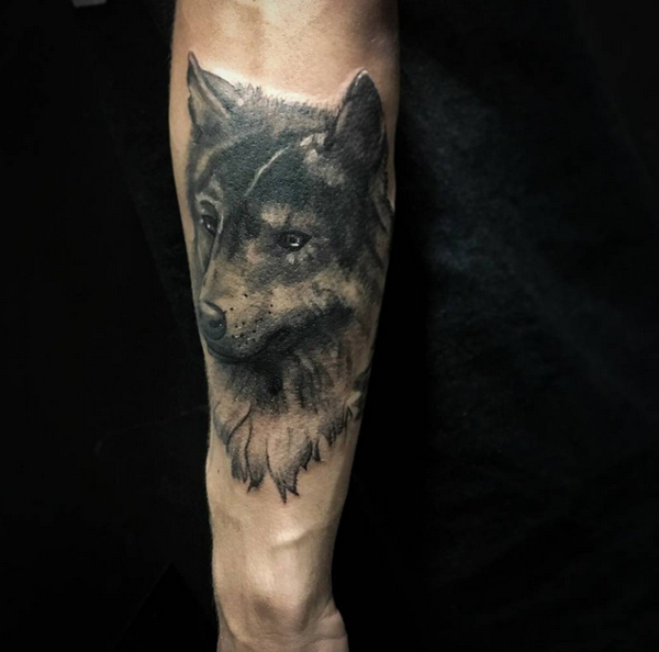 Pictures of Wolf Tattoos 13
