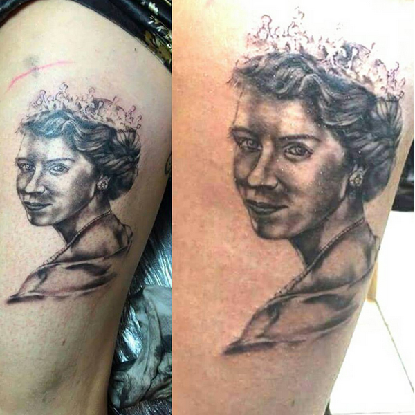 Queen Tattoos Designs 16