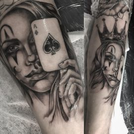 queen-tattoos-designs