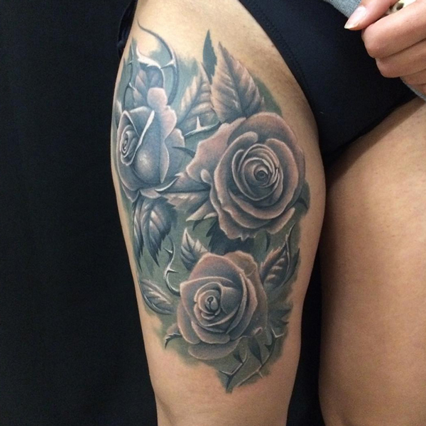 Roses Tattoos Designs 12