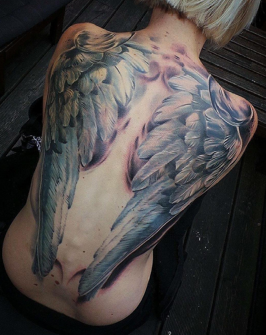 Tattoo With Angel Wings 7