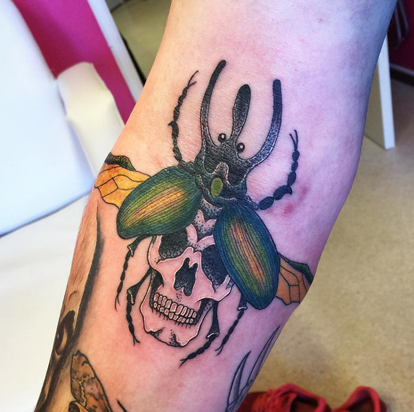 Tattoos of Insects 12