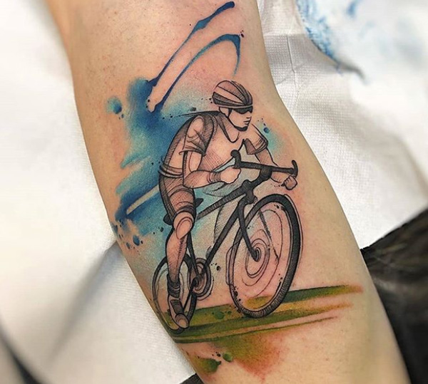 Bicycle Tattoos.