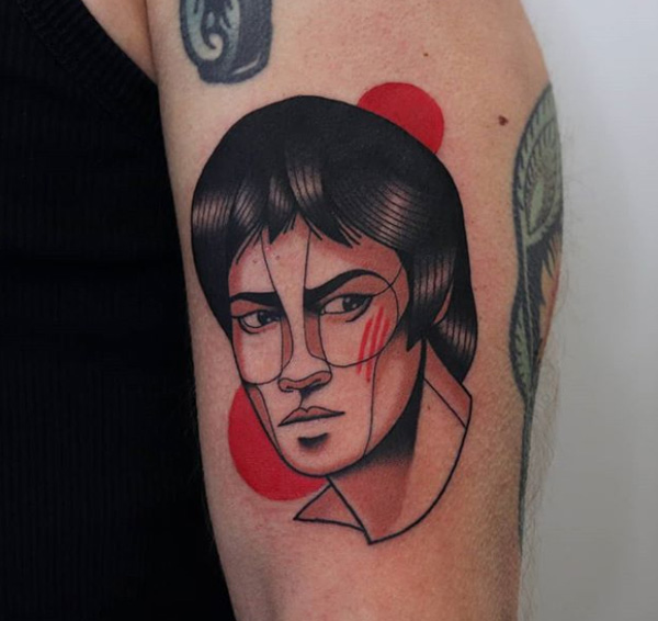Bruce Lee tattoo Collection.