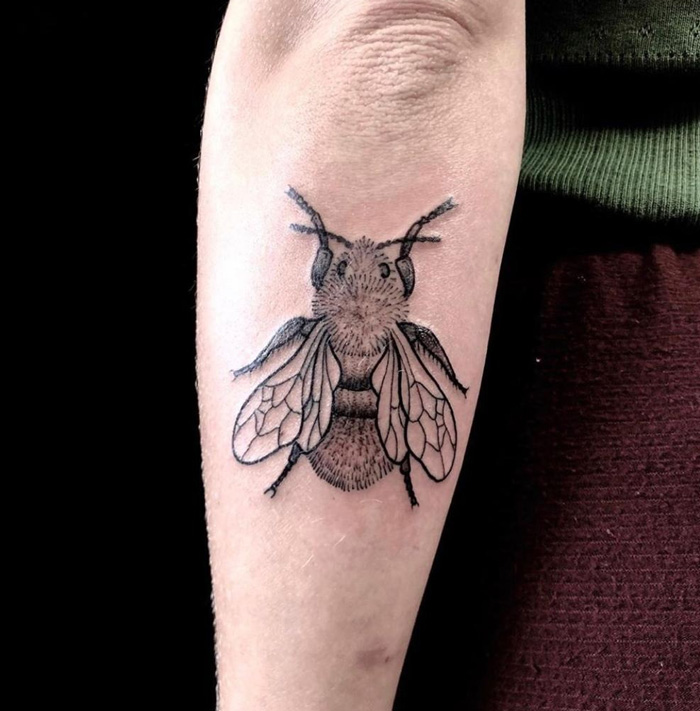 Bee Tattoo Ideas.