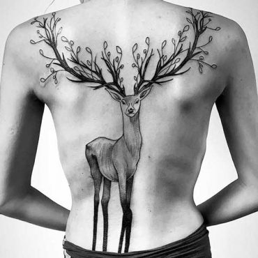 Deer Tattoos Designs